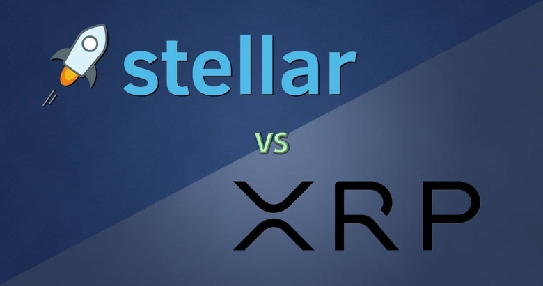 xlm vs xrp price analysis
