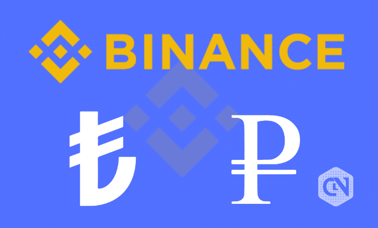 Binance Launches New Trading Pairs With Turkish Lira & Russian Ruble