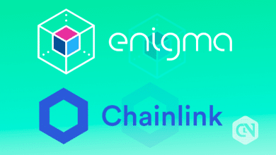 Photo of Enigma and Chainlink Broadcast News About Partnership