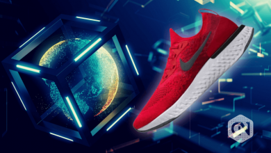 Photo of Sportswear Brand Nike Gets Patent for Blockchain-pegged Sneakers 'CryptoKicks'