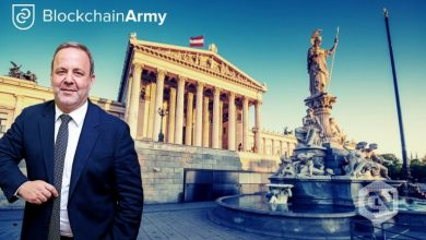 Photo of Austrian Parliament Bestows BlockchainArmy Head Erol User With the Space Medal