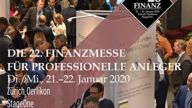 Photo of 22nd Swiss Finance Fair for Professional Investors: FINANZ '20