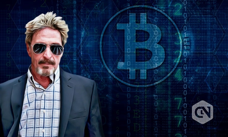 Shifting Tales of John McAfee