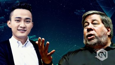 Photo of Justin Sun Tweets About Meeting Former Apple Co-Founder Steve Wozniak