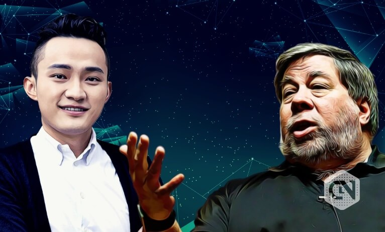 Justin Sun Tweets About Meeting Former Apple Co-Founder Steve Wozniak