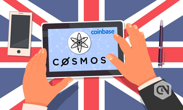 Coinbase UK adds support for Cosmos