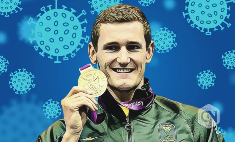 Cameron van der Burgh Suffers from Covid-19