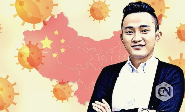Justin Sun Shows His Happiness to End of Lockdown in Wuhan