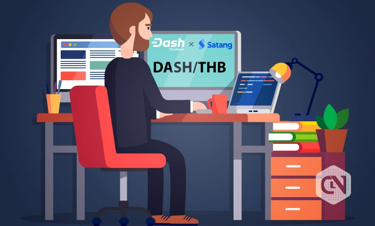 Dash Thailand announced the Dash listing on Satang vs. Thai Baht