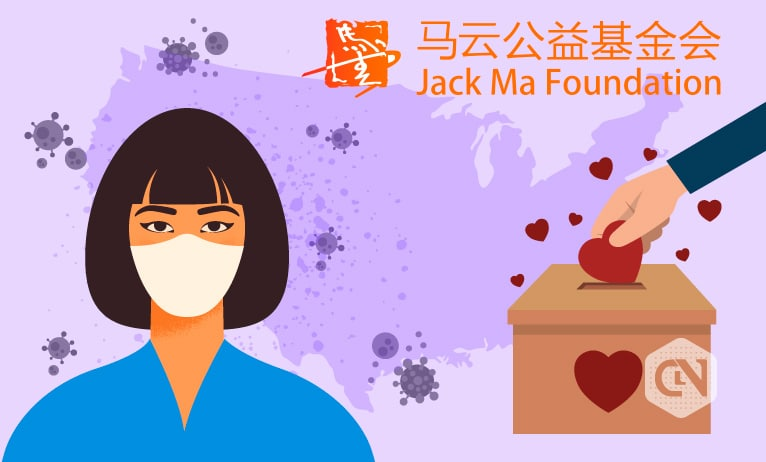 Jack Ma Foundation's Shipment of TestKits and Masks Off to US