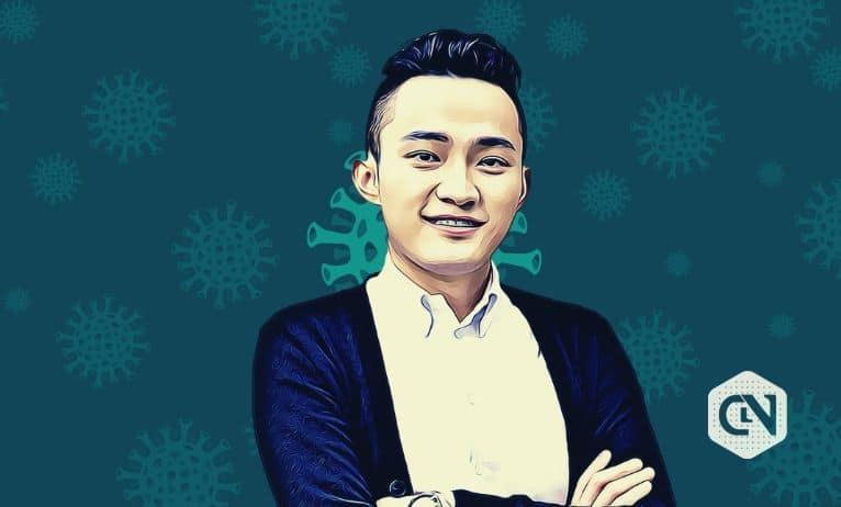 Justin Sun Tweets About Safety & Health of Employees Community