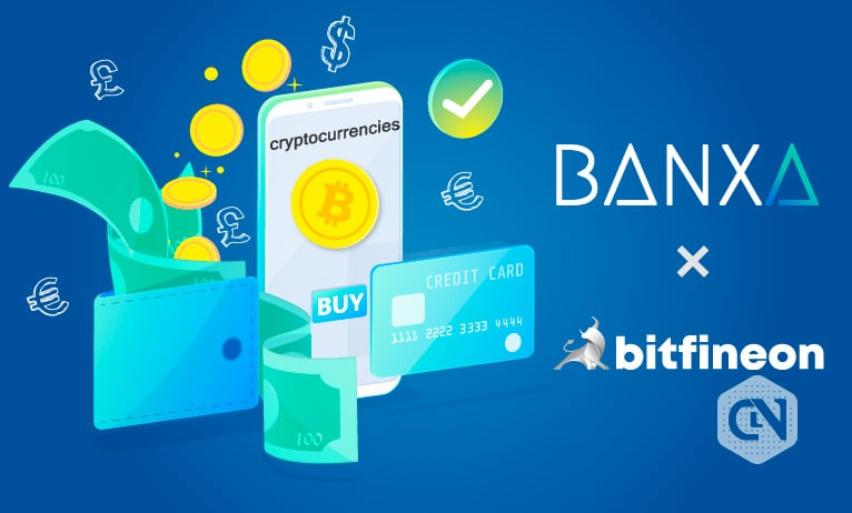 Bitfineon Teams Up With Banxa to Provide Fiat Payments