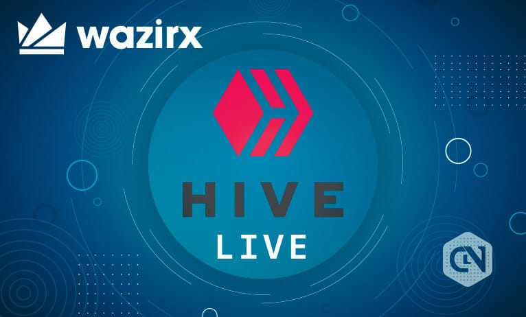 WazirX to support HIVE/USDT trading on its platform