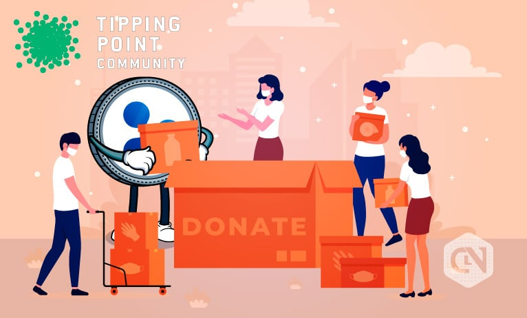 Ripple Helps Tipping Point Community at COVID-19 Emergency
