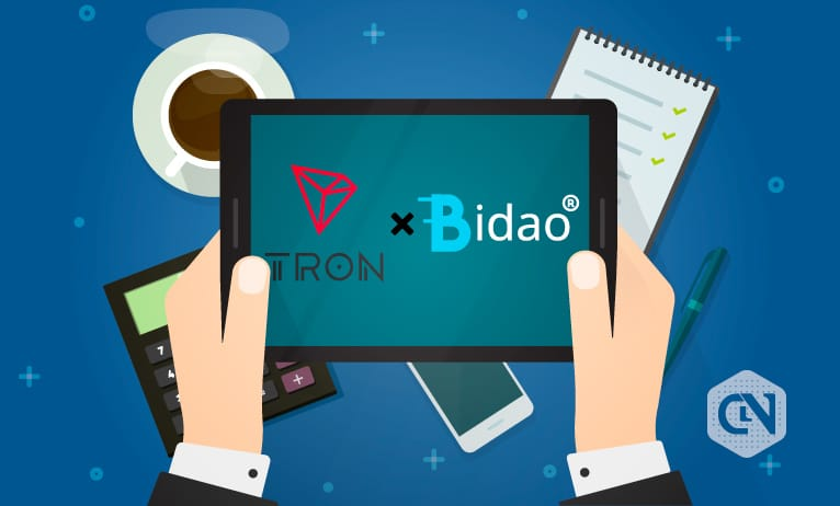 Tron (TRX) is Now Available on Bidao Chain's DeFi Ecosystem