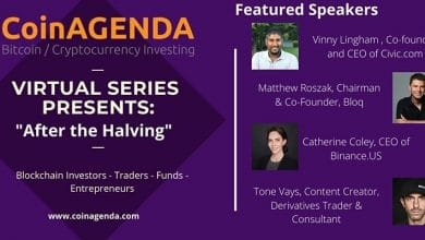 "Photo of CoinAgenda ""After the Halving"" Virtual Event to Feature Fireside Chat with ""Oracle of Bitcoin"" Vinny Lingham"