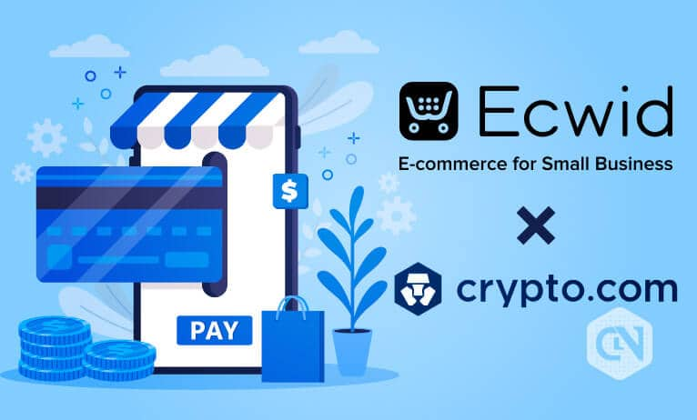 Crypto.com enables crypto payments for Ecwid merchants