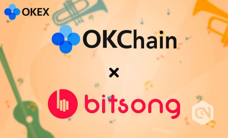 OKChain collaborates with BitSong