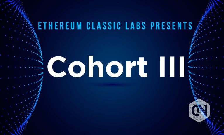 Ethereum Classic Labs announced the launch of Cohort III