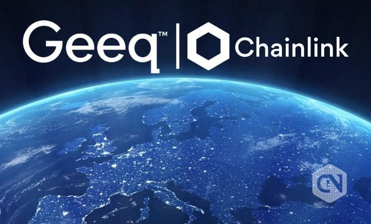 Geeq Integrates with Chainlink to Access Off-Chain Data Resources