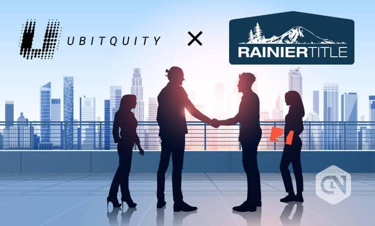 Ubitquity mengumumkan kemitraan dengan Rainier Title