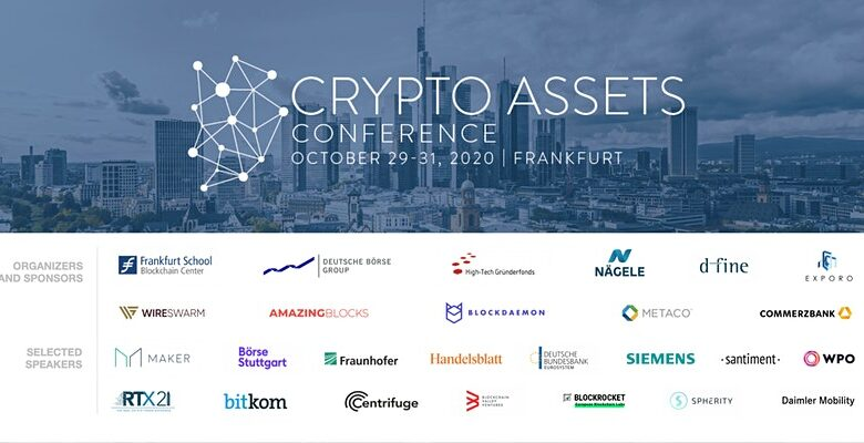 Crypto Assets Conference 2020B | October 29–31, 2020 | Frankfurt School of Finance and Management