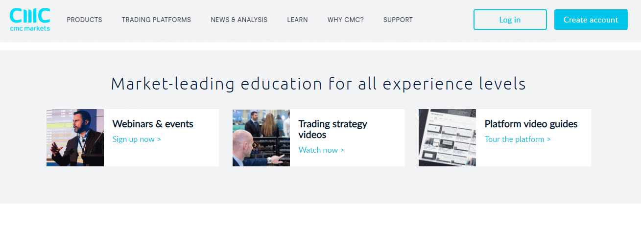 CMC Markets Reviews - Educational Tools
