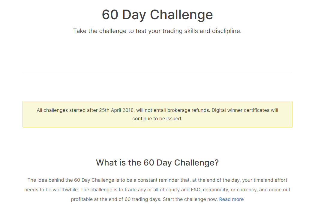Zerodha Review 2020 - 60 Day Challenge