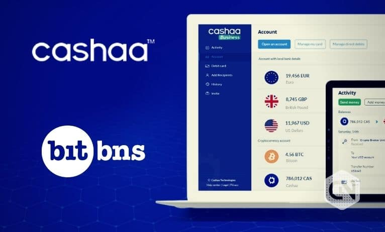 Unicas by Cashaa Partners with Bitbns