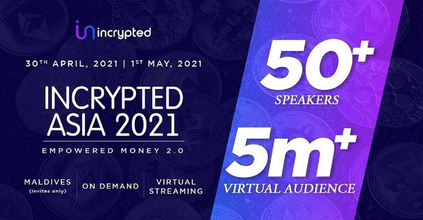 Incrypted 2021 will be hosted for two days in Maldives - CryptoNewsZ