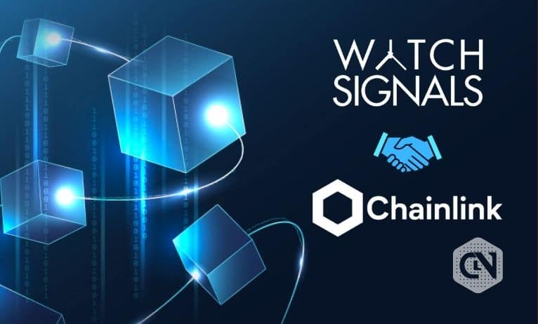 WatchSignals & Chainlink's Watch Data to be on Blockchain