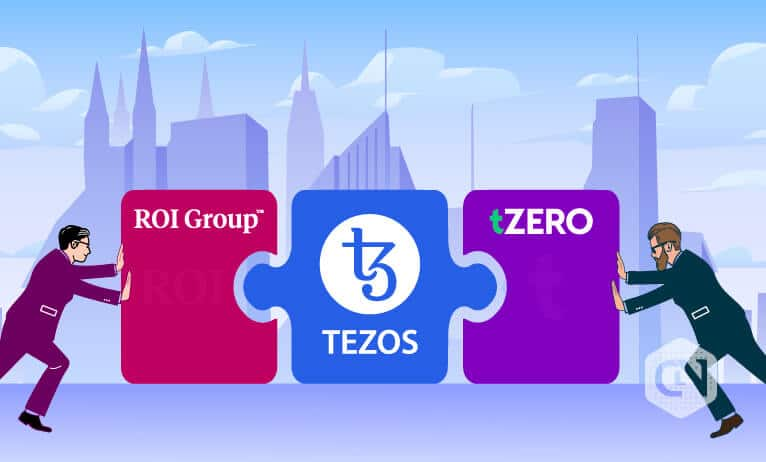 tZERO and ROI Group Partner