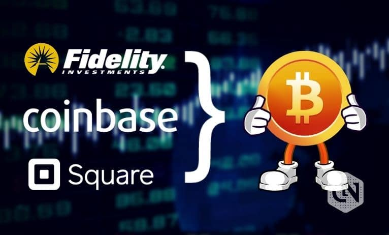 Coinbase, Square & Fidelity Launch Bitcoin Trade Group