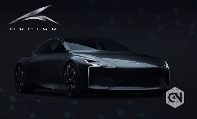 First Integrated Blockchain Luxury Car Launched by Hopium