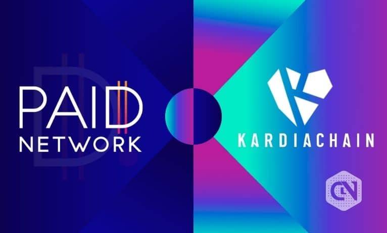KardiaChain announces partnership with PAID Network