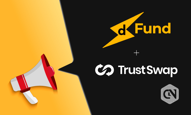 dFund Announces Token Offering on TrustSwap Launchpad