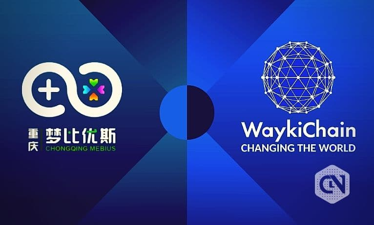 waykichain partnership with mebius