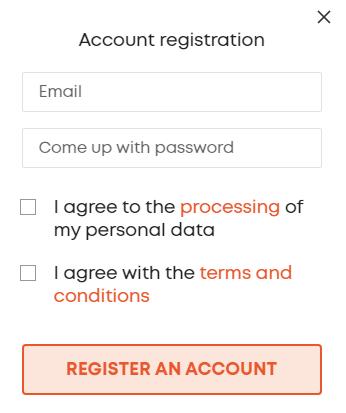 Libertex Account Registration Process