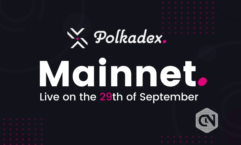Polkadex Mainnet to Be Launched on September 29, 2021